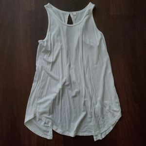 New open tie back tank, small